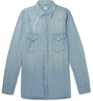 Chimala Cotton-Chambray Western Shirt