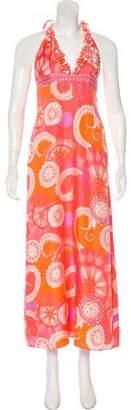 Tibi Floral Silk Dress