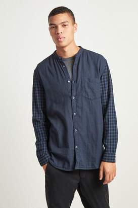 French Connenction Overdyed Double Gingham Shirt