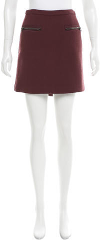 3.1 Phillip Lim 3.1 Phillip Lim Wool Mini Skirt