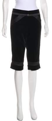 Diane von Furstenberg High-Rise Cropped Pants