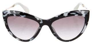 Miu Miu Gradient Cat-Eye Sunglasses