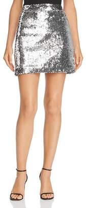 Milly Modern Sequined Mini Skirt