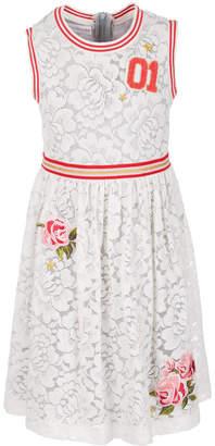 Bonnie Jean Big Girls Plus Lace Athletic Dress