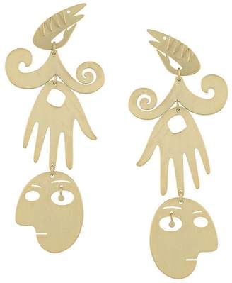 Tory Burch surreal drop earrings