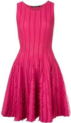 Valenti Antonino ruffle details dress
