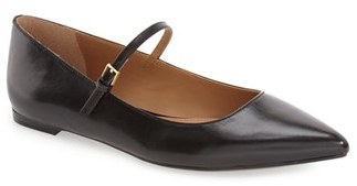 Calvin Klein 'Gracy' Mary Jane Flat $99.95 thestylecure.com