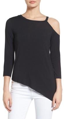 Women's Bailey 44 Asymmetrical Cold Shoulder Top $98 thestylecure.com