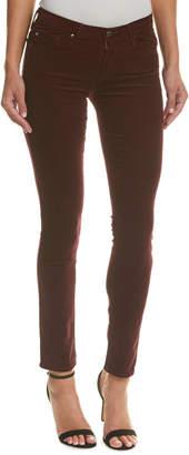 AG Jeans Prima Wine Corduroy Cigarette Leg