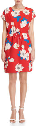 Yumi Floral Drawstring Dress
