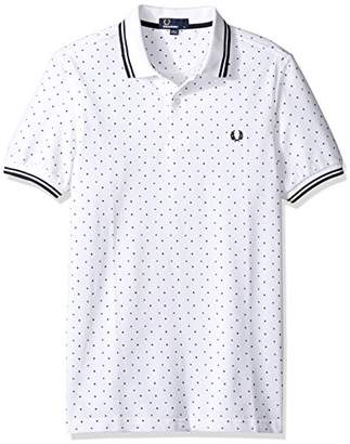 Fred Perry Men's Square Print Shirt