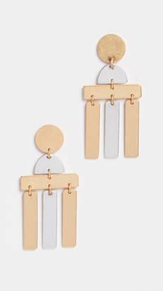 Madewell Flatform Statement Earrings