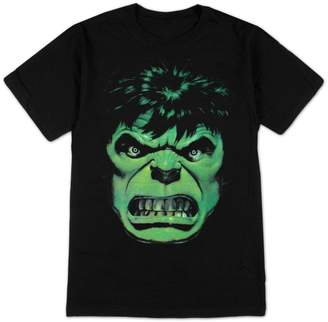 Impact Marvel Comics Incredible Hulk Angry Face Adult T-shirt