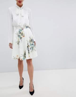 Closet London Closet Floral Skirt