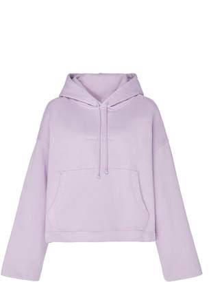 Acne Studios Joghy Logo-Embossed Cotton-Jersey Hooded Sweatshirt Size: