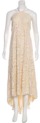 Alexis Lace Halter Dress
