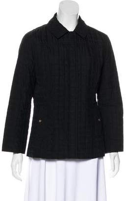 Sonia Rykiel Sonia by Quilted Button-Up Jacket