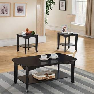 Andover Mills Lynnville 3 Piece Coffee Table Set