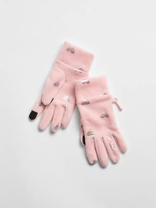 Gap Print Tech Touch Gloves
