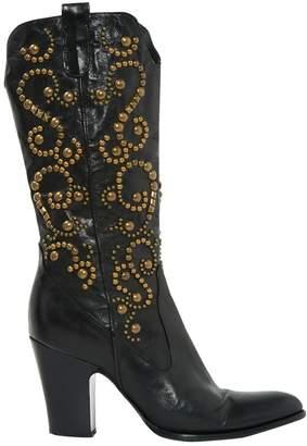 Le Silla Leather cowboy boots