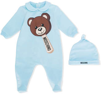 Moschino Kids teddy bear pajamas