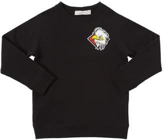 Stella McCartney Eagle Printed Cotton Sweatshirt