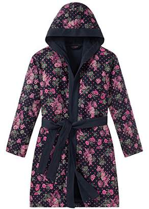 Schiesser Girl's Mädchen Bademantel Dressing Gown