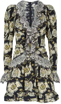 Etro Floral Ruffle Dress