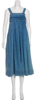 Rachel Comey Denim Midi Dress
