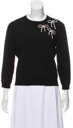 Michael Kors Embellished Crew Neck Sweater w/ Tags