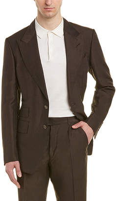 Tom Ford Shelton 2Pc Linen & Silk-Blend Suit With Flat Pant