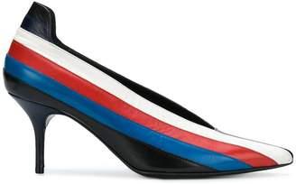 Sonia Rykiel striped stiletto pumps