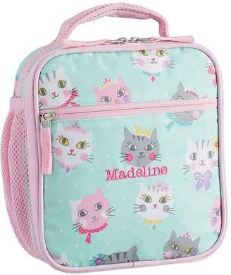 99688ceb203d Pottery Barn Kids Mackenzie Aqua Pink Princess Kitty Backpacks