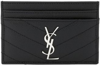 Monogram Quilted Card Holder $250 thestylecure.com