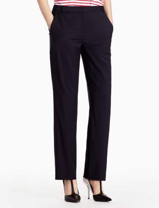 Calvin Klein wool stretch woven pants