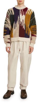 Isabel Marant Men's Drake Ikat Sweater