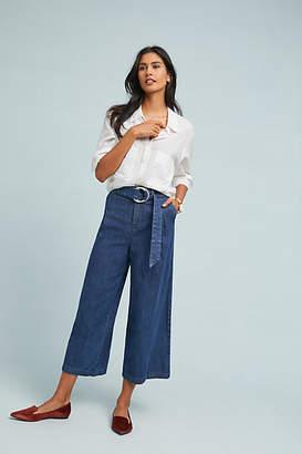 Pilcro and the Letterpress Pilcro Ultra High-Rise Wide-Leg Jeans