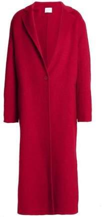 Wool And Cotton-Blend Felt Coat