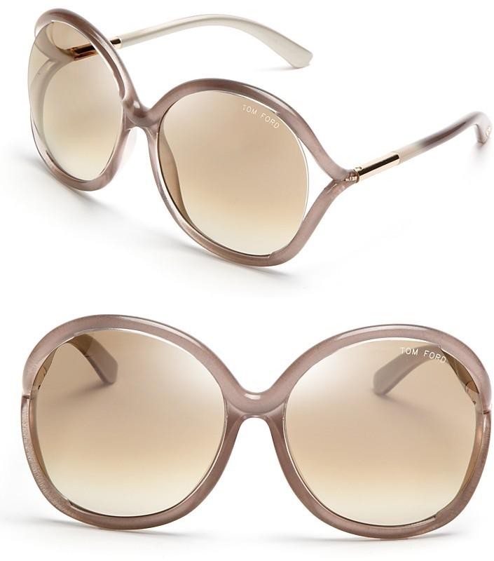 Tom Ford Rhi Oversized Sunglasses