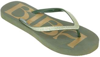 Biba Foil Footbed Flip Flop
