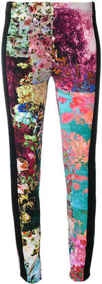 A.F.Vandevorst floral panel leggings
