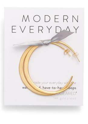 Dogeared Modern Everyday Have to Have Hoop Earrings