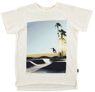 Molo Read Graphic Skater Tee, White, Size 4-12 $50 thestylecure.com