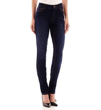 Liz Claiborne Curvy Fit Slim Leg Jeans