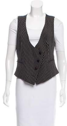Sonia Rykiel Striped Tailored Vest