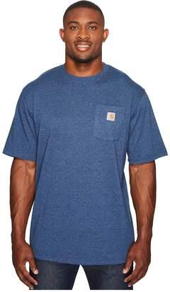 Carhartt Big Tall Workwear Pocket S/S Tee Men's Short Sleeve Pullover