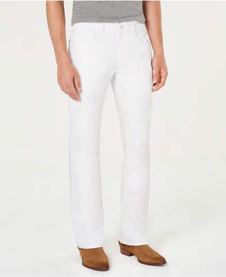 INC International Concepts I.n.c. Men White Bootcut Jeans