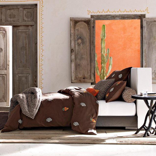 Walton Headboard + Chunky Wood Bed Frame