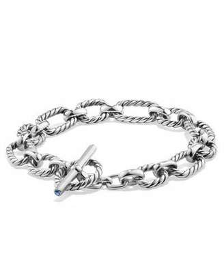 David Yurman 9.5mm Cushion Link Chain Bracelet $375 thestylecure.com