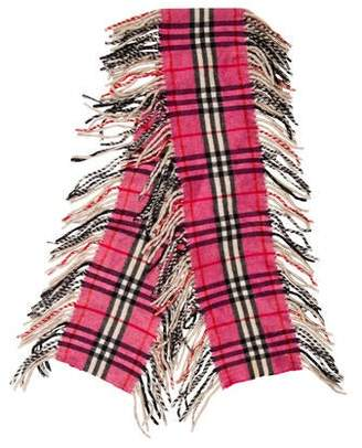 Burberry Nova Check Happy Scarf